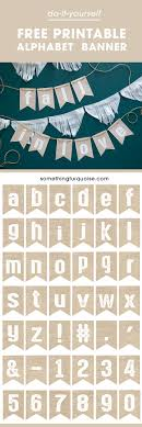 best ideas about printable banner letters banner printable burlap alphabet banner make it say whatever you want