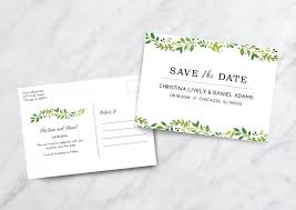 Save The Date Postcard Save The Date Wedding Postcard 10 Photos