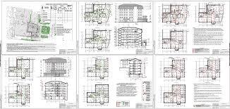 Дипломные проекты и курсовые работы скачать чертежи в autocad в  Дипломный проект Разработка мероприятий по обеспечению пожарной безопасности здания центрального корпуса университета