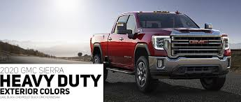 2019 Gmc Yukon Color Chart 2020 Gmc Sierra Hd Color Options Carl Black Kenensaw