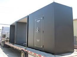 business delivery storm shelter on flatbed truck walk in safe room t84 safe
