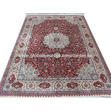 china iranian red color collection persian silk carpet handmade persian carpet in china turkish