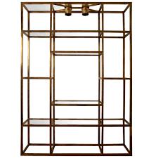 large gilt brass shelves or bookcase at stdibs