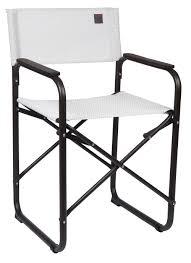 lafuma orson folding director chair kaolin color