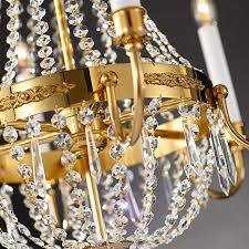 empire crystal chandelier gold 7254800 01