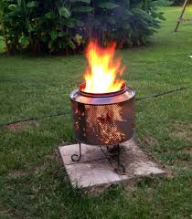 Fire Drum Designs 9 Smoke Free Fire Pit Ideas Your Family Will Love Portable