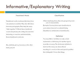 Explanatory Essay Format Informative Explanatory Essay Format