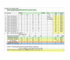 Grade Book Template Microsoft Word 30 Free Gradebook Templates Template Archive