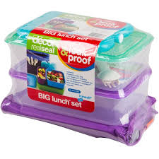 Decor Lunch Boxes Purple Lunch Box Kit Compartment Plastic Lunch Box Kit By Decor 20