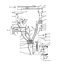 Hydraulic system schematic diagram