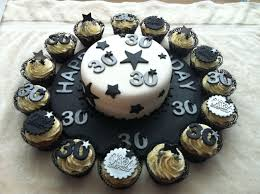 Male 30th Black And Silver Theme Yummy In 2019 75 Birthday Cake
