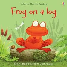 Frog on a Log – Lesley Sims