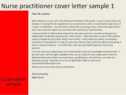 Cover Letter Nurse Practitioner Cover Letter Examples For Nurse