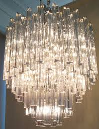 elegant italian murano glass chandelier by camer in excellent condition for in hudson ny