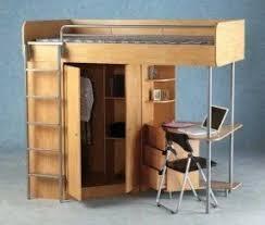 Top bunk bed with desk underneath 1