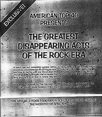Billboard Charts April 1975 Watermark On The Web American Top 40 Special Countdowns