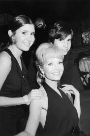 debbie reynolds and carrie fisher. Perfect Reynolds Debbie Reynolds Poses Her Children Carrie Fisher And Todd Fisher As They  Attend The For And Time Magazine