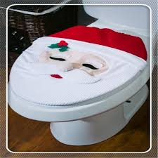 high quality toilet seat covers decorations happy santa toilet seat cover and rug set santa santa toilet seat toilet seat cover