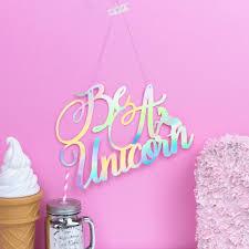unicorn wall decoration unicorn party unicorn bedroom decor