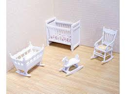 doll house furniture sets. Classic Dolls House Nursery Set Doll Furniture Sets