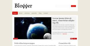 Blogger Free Blog Template Chocotemplates