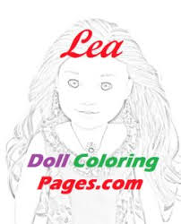 Doll Coloring Pages Coloring Pages From My 18 Fashion Doll Collection