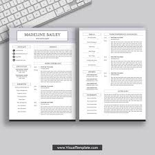 Modern Resume Downloads 2019 Simple And Modern Resume Word Cv Template Mac And Pc Cover