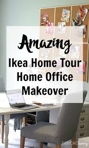 ikea office makeover. Check Out This Amazing Home Office Makeover With The Ikea Tour. Includes Affordable Design L