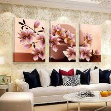 3 piece pink orchid flowers beautiful wall painting home living room wall decoration artwork hd print picture canvas unframed in painting calligraphy from  on beautiful wall art for living room with 3 piece pink orchid flowers beautiful wall painting home living room