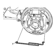 Array chevrolet sonic repair manual drum brake hardware replacement rh csmans