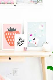 diy wall art ideas for teen rooms diy gem magnets and easy wall