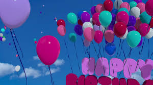 Image result for happy birthday balloons
