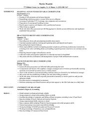 Accounts Receivable Resume Template Nguonhangthoitrang Net