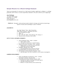 Examples Of Resumes With No Job Experience Resume Template For High School Student With No Job Experience 15
