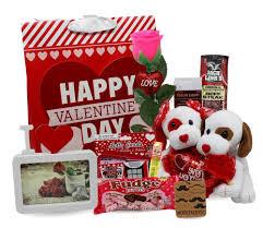 a 10 piece valentine s basket bundle for him