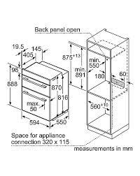 Neff N50 U1ace2hn0b Built In Double Oven