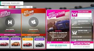 Forza horizon 3 car top speed full tuned gameplay 437 kmh 4k 60fps pc run. Forza Horizon 4 Forzathon February 20 27 Studs And Spark Plugs