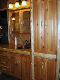 Made To Order Bathroom Cabinets Log Furniture Gallery By Vienna Woodworks