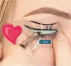 smokey eyeliner stencil cat eye ebay