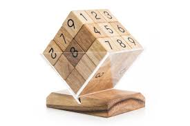 Sudoku Wooden Board Game Instructions Sudoku Cube 68