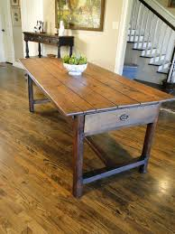 antique french country farm dining table authentic provence 63801 french country table a57