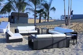 Black rattan outdoor furniture party corner black rattan outdoor furniture party corner