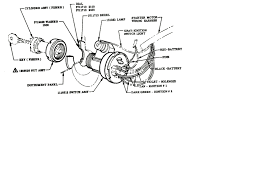 ignition switch wiring diagram chevy Chevrolet Ignition Wiring Diagram technical ignition switch wiring diagram 1955 2 chevy 3100 the chevrolet ignition switch wiring diagram
