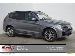 Space Grey Metallic BMW X3