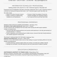 computer support technician resume it technician resume example with summary statement