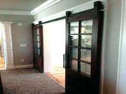 frosted door glass sliding barn doors style shower hardware plastic panels 5 panel sty