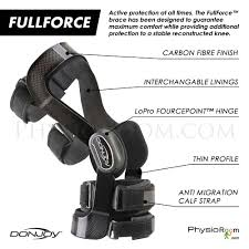 Donjoy Ankle Brace Size Chart Full Force Short Knee Brace Ligament