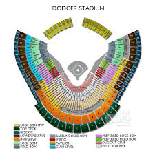 La Dodgers Seating Chart Dodger Stadium Concert Tickets And Seating View Vivid Seats