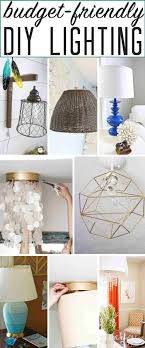 A Dozen Diy Lighting Ideas The Heathered Nest
