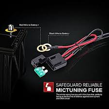 mictuning wiring harness rocker switch (h608011) 1001 auto Mictuning Wiring Harness mictuning hd 300w led light bar wiring harness 40amp relay on off without switch( mictuning wiring harness installation